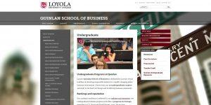 Loyola University Chicago Undergraduate Business
