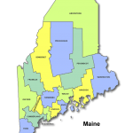Maine High Schools by County
