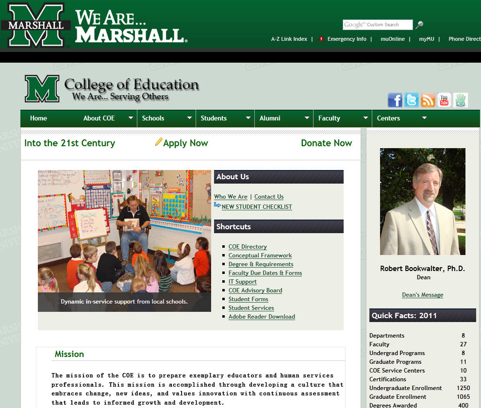 Marshall University College of Education