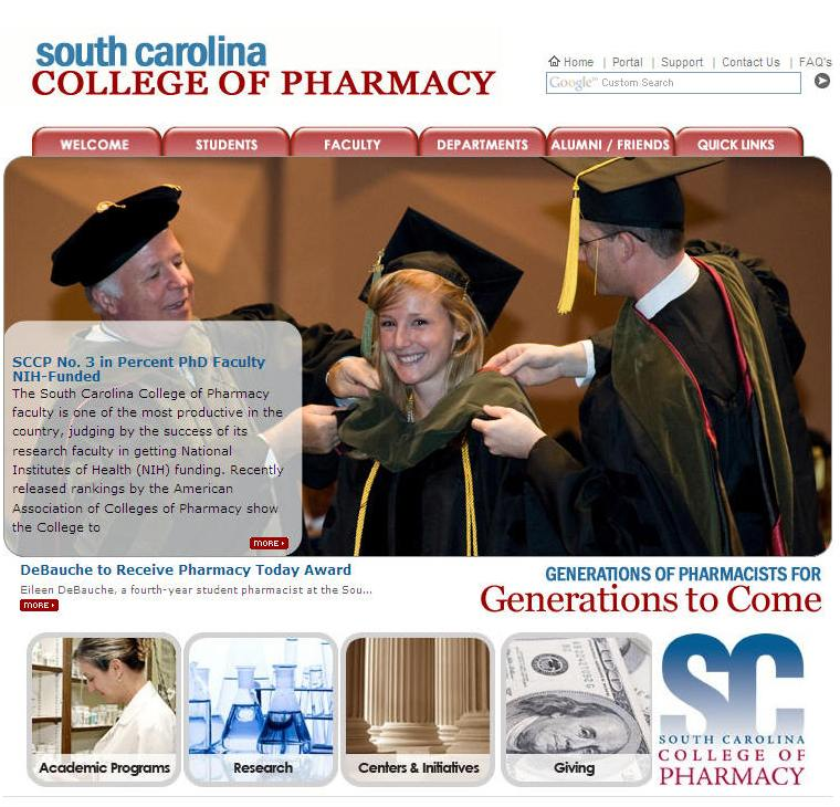 Medical University of South Carolina College of Pharmacy