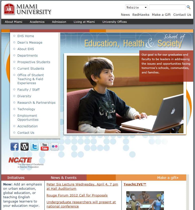 Miami University School of Education Health Society