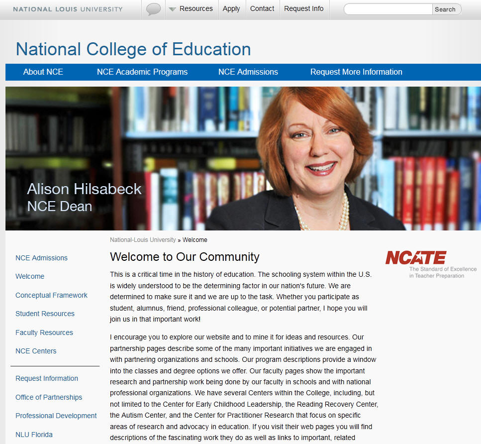 National-Louis University College of Education