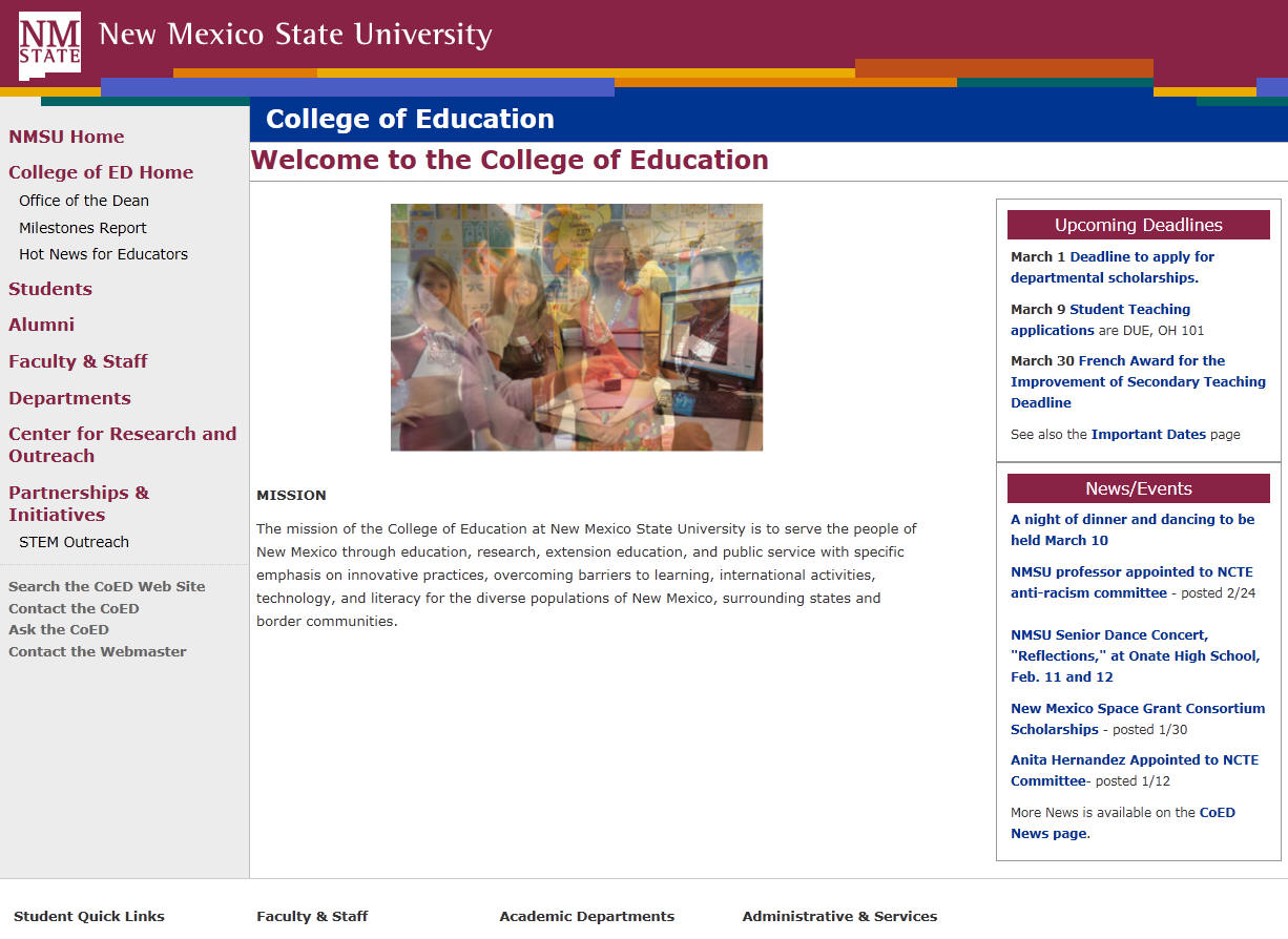 New Mexico State University College of Education