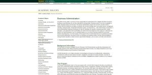 North Dakota State University Undergraduate Business