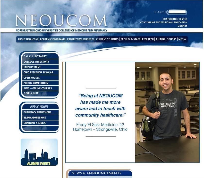 Northeastern Ohio Universities Colleges of Medicine and Pharmacy