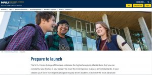 Northern Arizona University Undergraduate Business