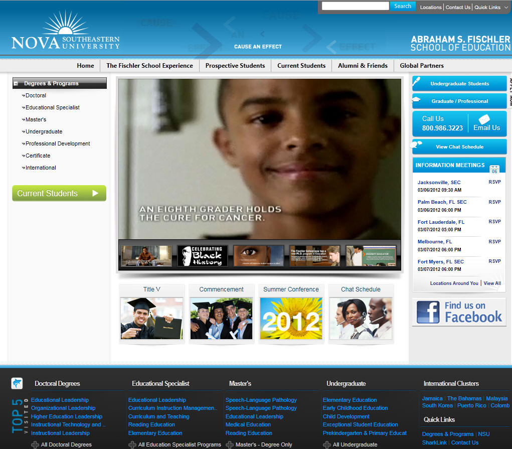 Nova Southeastern University Fischler School of Education