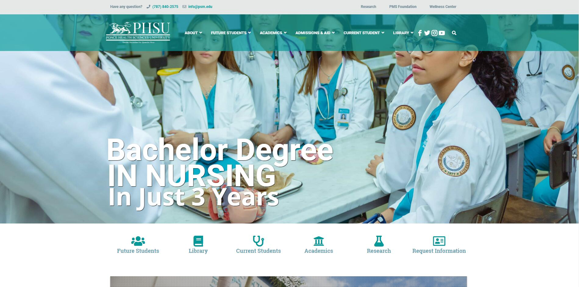 Ponce School of Medicine Admissions Statistics and Rankings