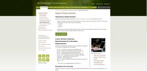 Portland State University Undergraduate Business