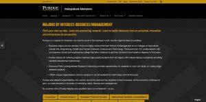 Purdue University-West Lafayette Undergraduate Business