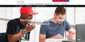Rutgers, the State University of New Jersey-New Brunswick Undergraduate Business