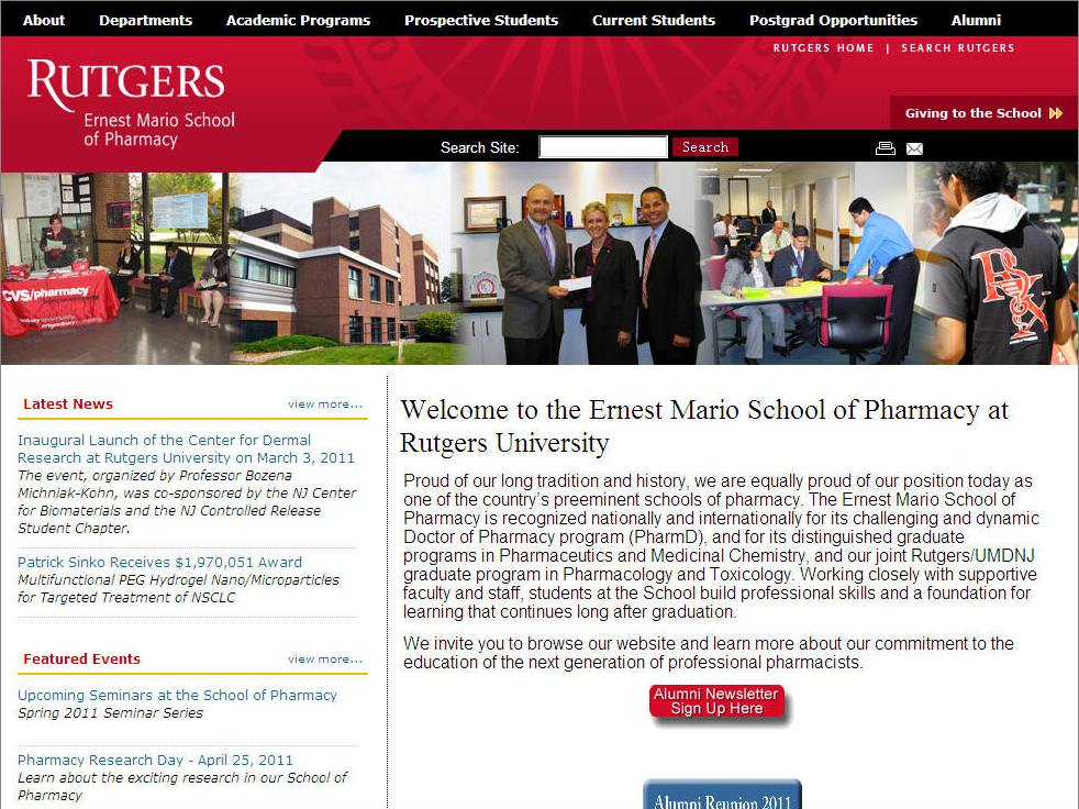Rutgers University Ernest Mario School of Pharmacy