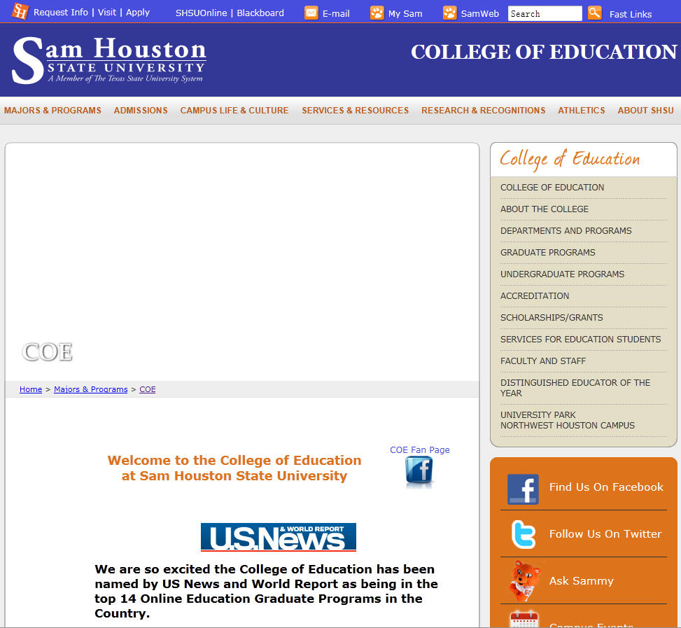 Sam Houston State University College of Education