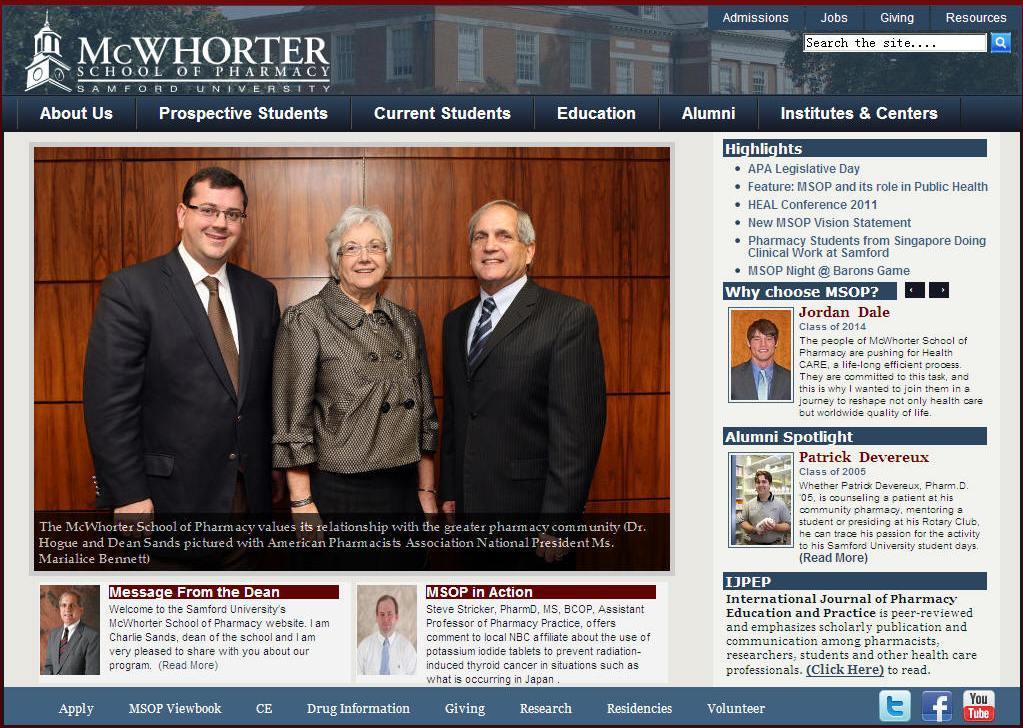 Samford University McWhorter School of Pharmacy