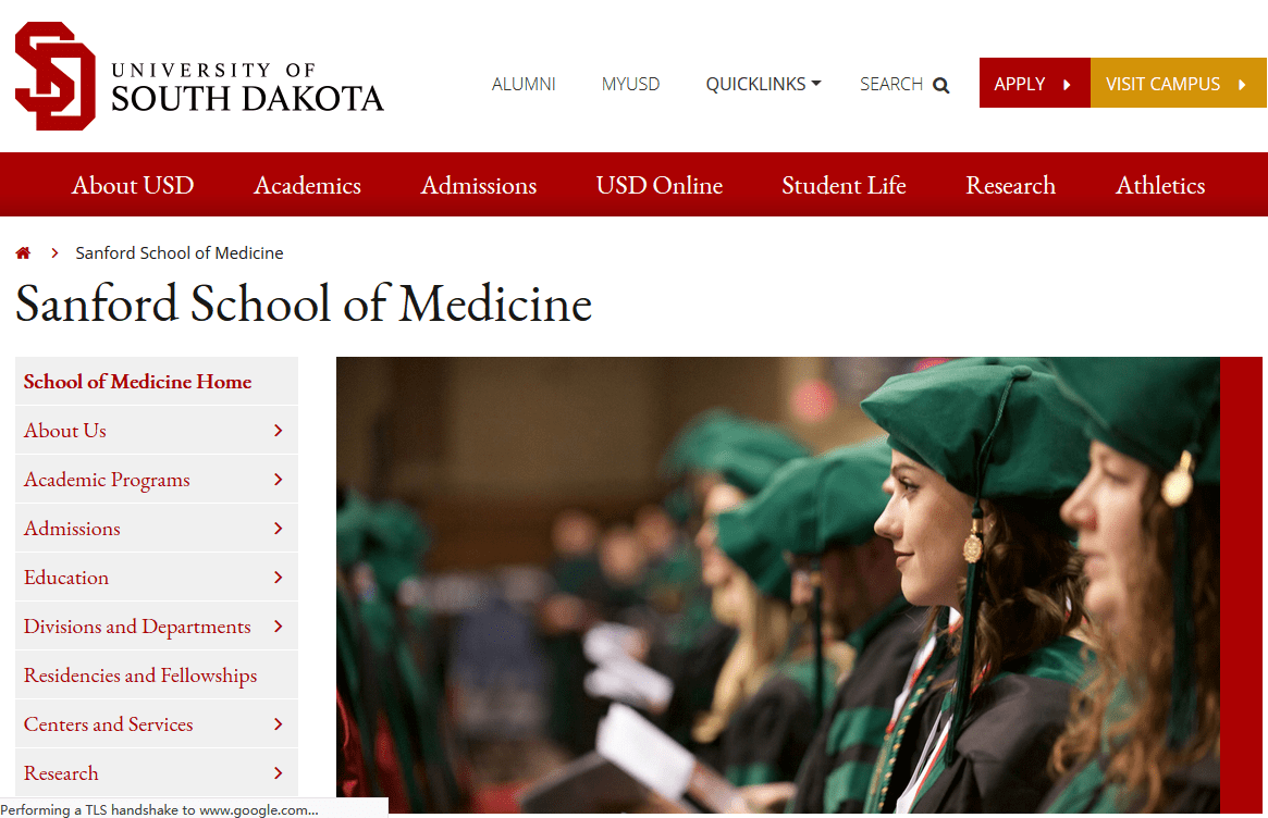 Sanford School of Medicine