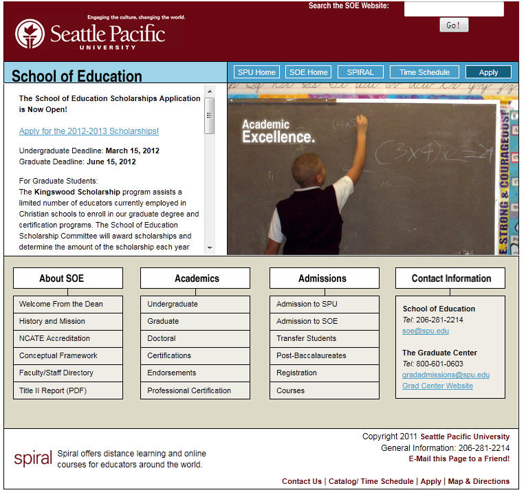 Seattle Pacific University School of Education
