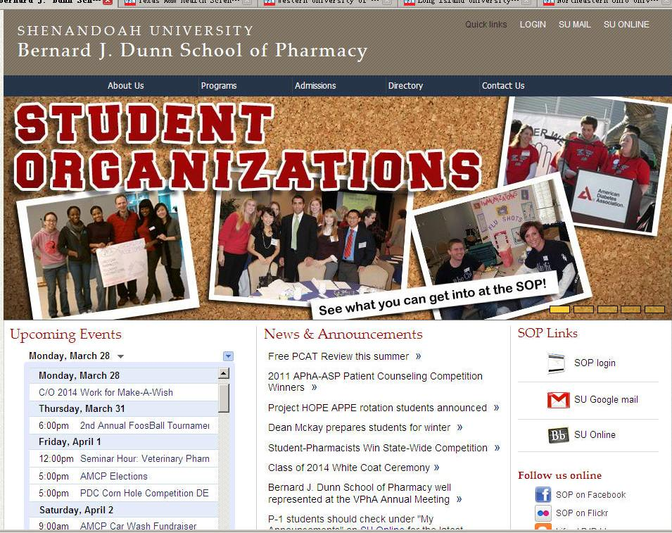 Shenandoah University Bernard J Dunn School of Pharmacy