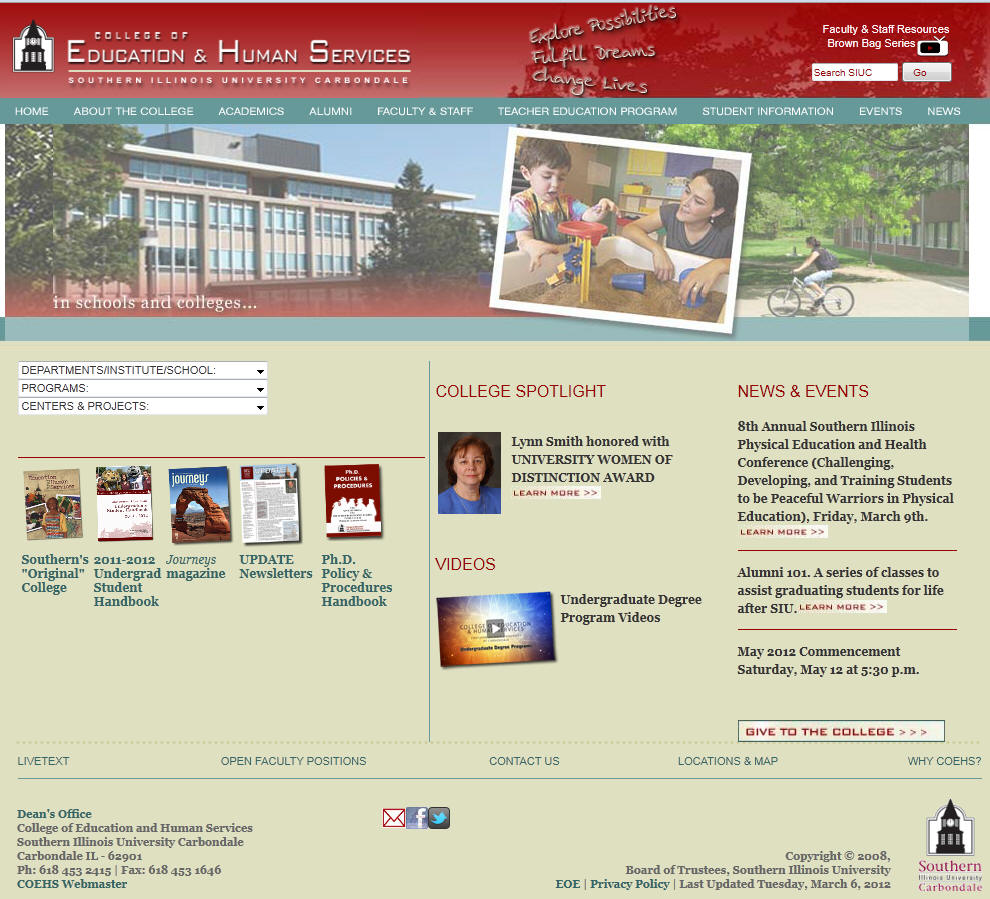 Southern Illinois University–Carbondale College of Education and Human Services