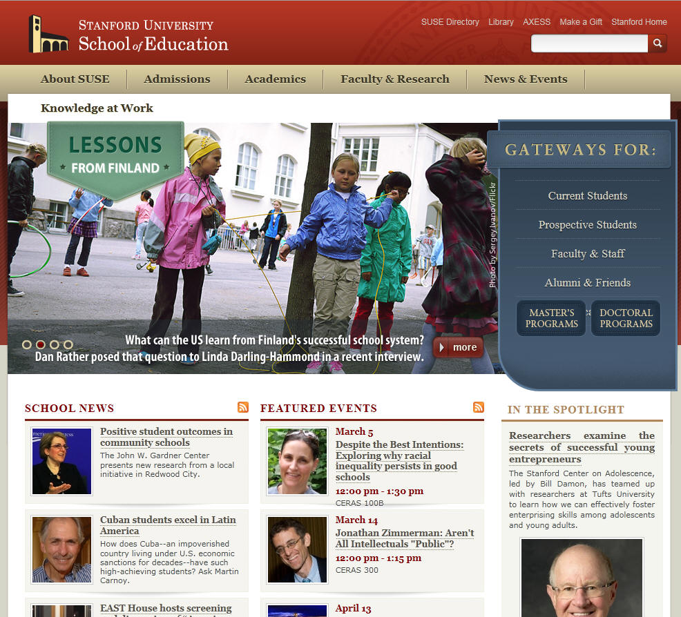 Stanford University School of Education