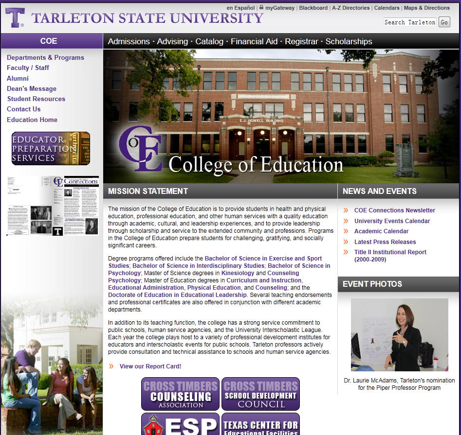 Tarleton State University College of Education