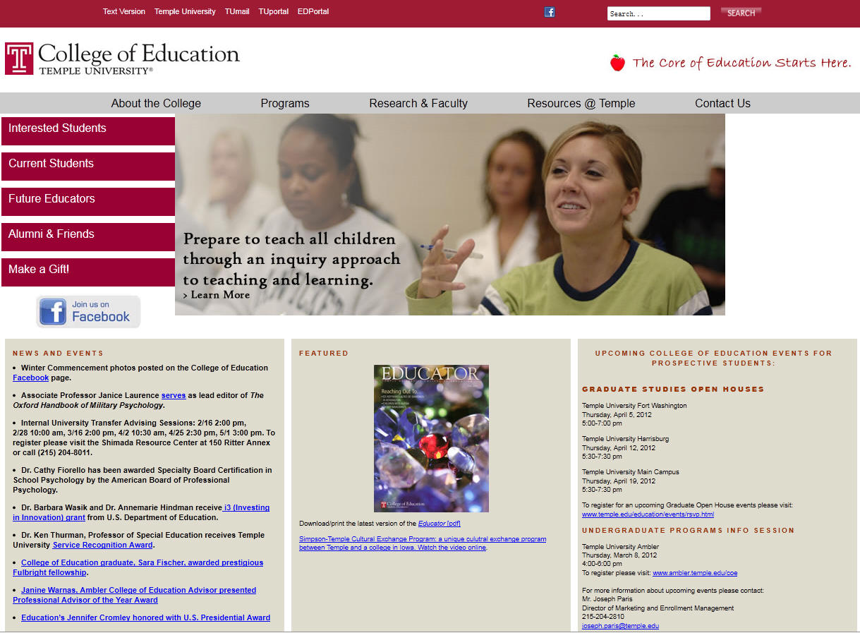 Temple University College of Education