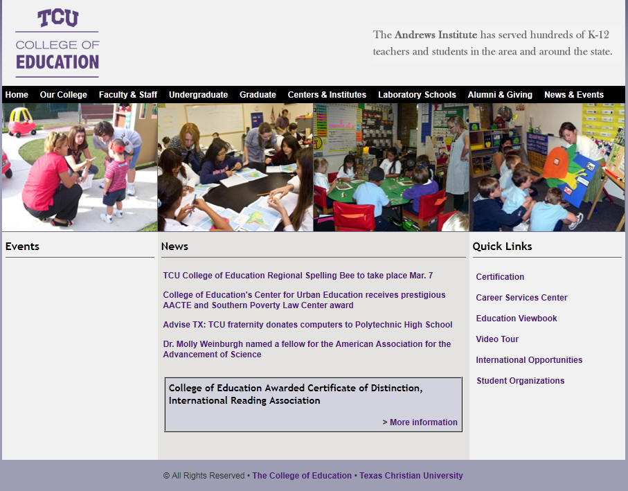 Texas Christian University College of Education