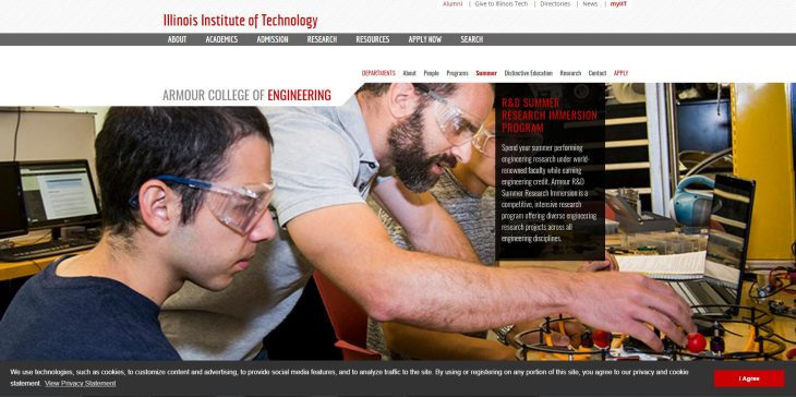 The Armour College of Engineering at Illinois Institute of Technology