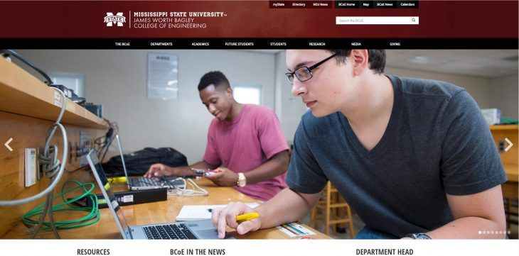 The Bagley College of Engineering at Mississippi State University