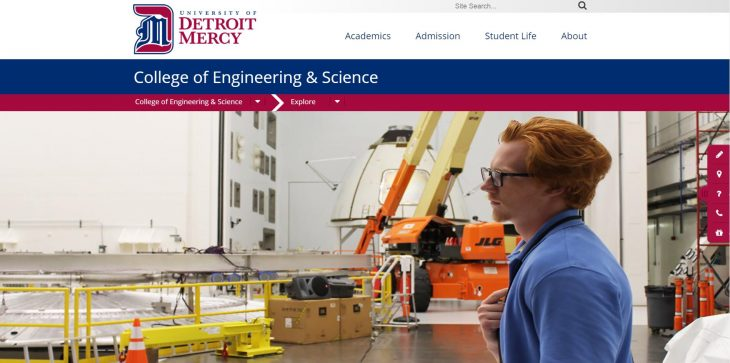 The College of Engineering & Science at University of Detroit Mercy