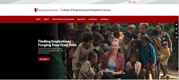 The College of Engineering and Applied Sciences at Stony Brook University--SUNY