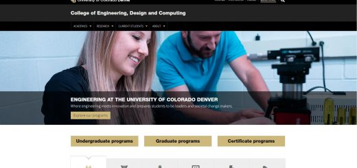 The College of Engineering and Applied Sciences at University of Colorado--Denver