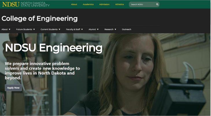 The College of Engineering and Architecture at North Dakota State University
