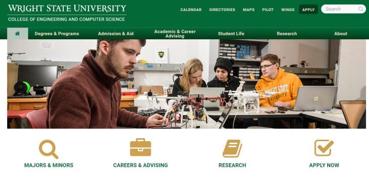 The College of Engineering and Computer Science at Wright State University