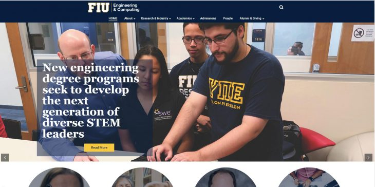 The College of Engineering and Computing at Florida International University