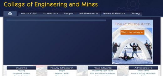 The College of Engineering and Mines at University of Alaska--Fairbanks