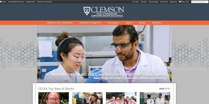 The College of Engineering and Science at Clemson University