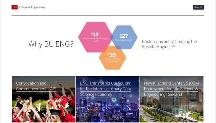 The College of Engineering at Boston University