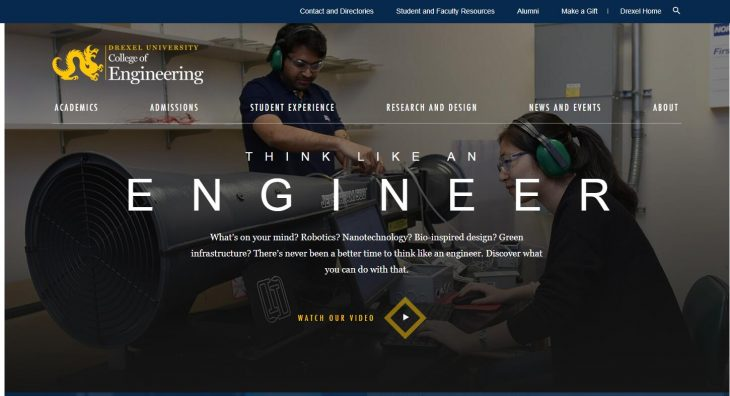 The College of Engineering at Drexel University