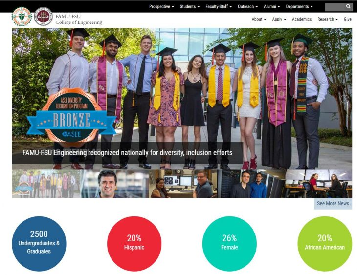 The College of Engineering at Florida A&M University