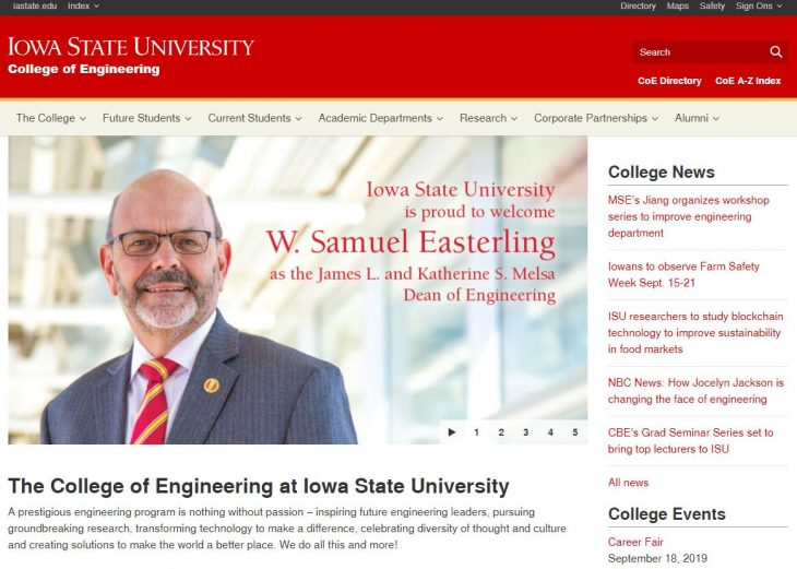 The College of Engineering at Iowa State University