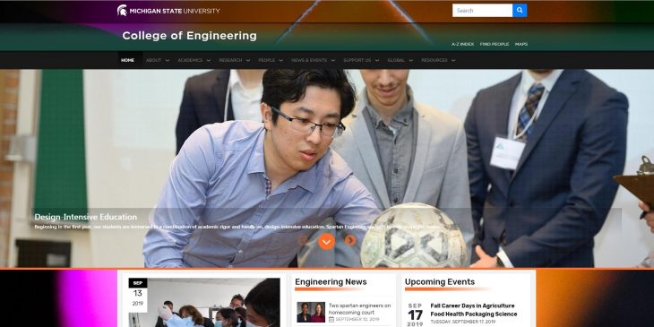 The College of Engineering at Michigan State University