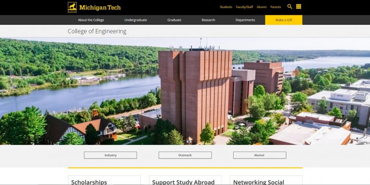 The College of Engineering at Michigan Technological University