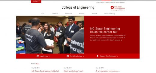 The College of Engineering at North Carolina State University--Raleigh
