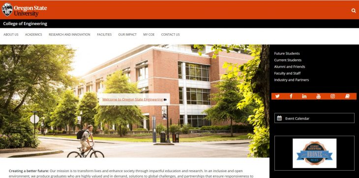 The College of Engineering at Oregon State University