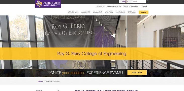 The College of Engineering at Prairie View A&M University
