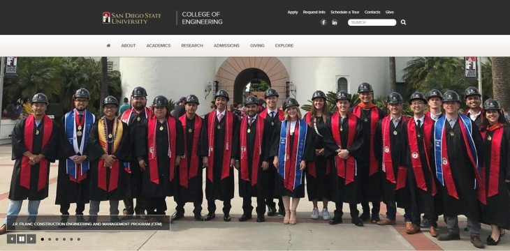 The College of Engineering at San Diego State University