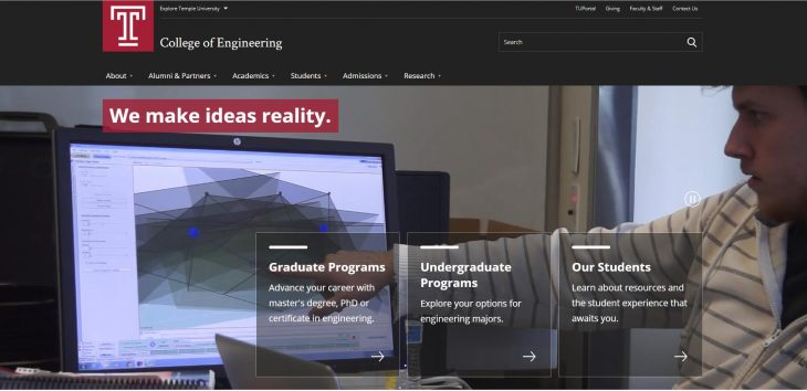 The College of Engineering at Temple University
