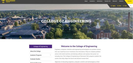 The College of Engineering at Tennessee Technological University
