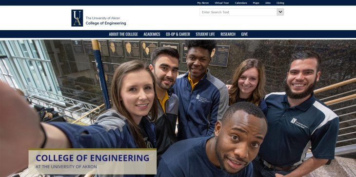 The College of Engineering at University of Akron