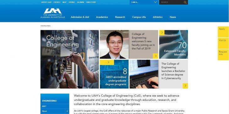 The College of Engineering at University of Alabama--Huntsville